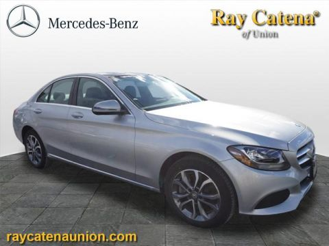 Certified Pre-Owned 2017 Mercedes-Benz C-Class C300 Luxury 4MATIC® AWD