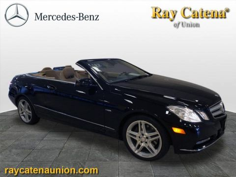 Certified Pre-Owned 2012 Mercedes-Benz E-Class E 350 RWD CABRIOLET
