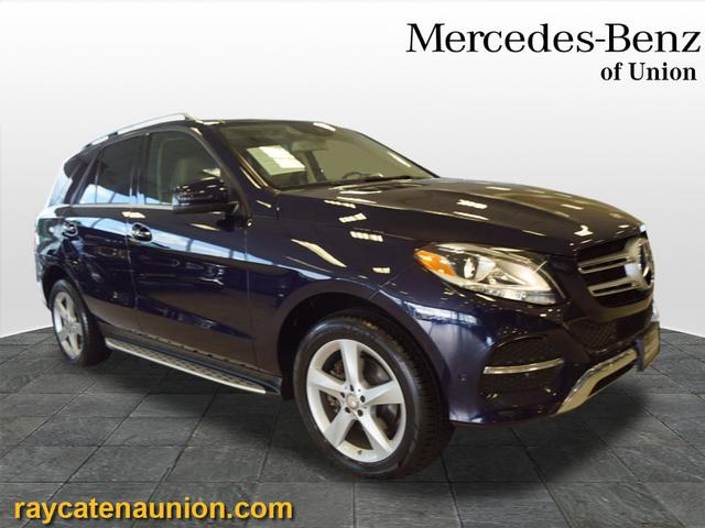 Certified Pre-Owned 2017 Mercedes-Benz GLE 350 GLE 350 4MATIC®