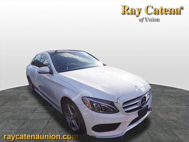 Certified pre owned 2015 mercedes benz c class c 300 sport for Ray catena mercedes benz