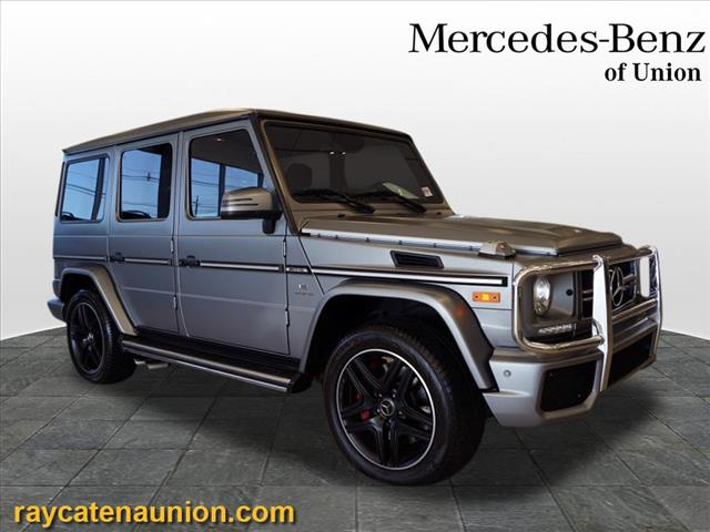 Certified Pre-Owned 2017 Mercedes-Benz G-Class AMG® G 63 SUV 4MATIC®