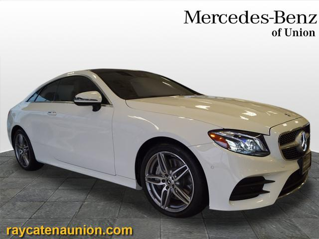 certified pre-owned 2018 mercedes-benz e-class e 400 sport coupe in