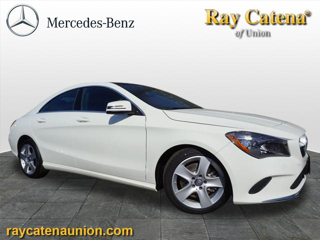 Certified pre owned 2017 mercedes benz cla cla 250 coupe for Ray catena mercedes benz