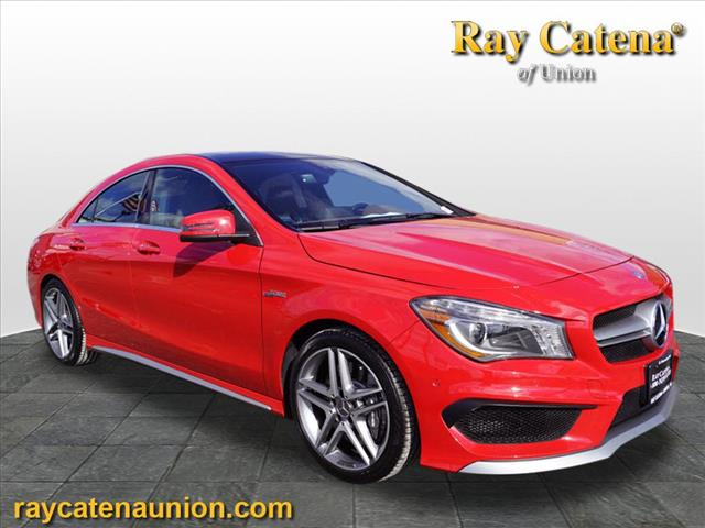 Certified Pre-Owned 2016 Mercedes-Benz AMG® CLA 45 Coupe AWD 4MATIC®
