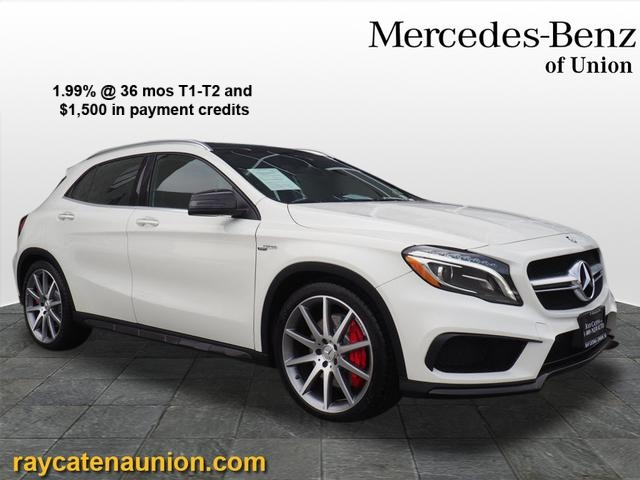 Certified Pre-Owned 2016 Mercedes-Benz AMG® GLA 45 SUV 4MATIC®