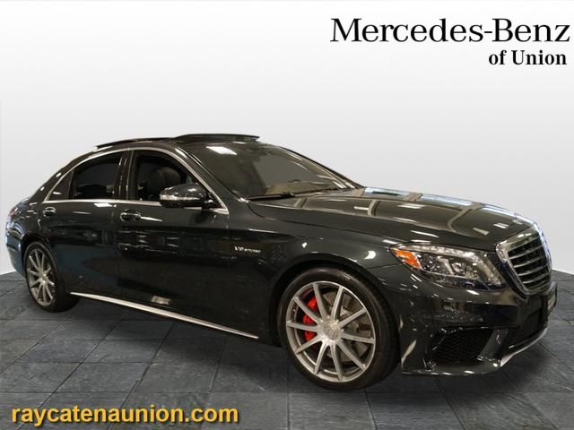Certified Pre-Owned 2015 Mercedes-Benz S-Class AMG® S 63 Long Wheelbase 4MATIC®  AWD 4MATIC®