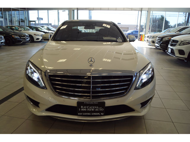 Ray Catena Mercedes >> Certified Pre Owned 2016 Mercedes Benz S Class S 550 Sport Sedan In