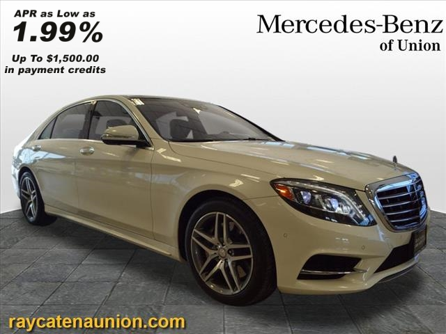 Certified Pre-Owned 2016 Mercedes-Benz S 550 Sport AWD 4MATIC®