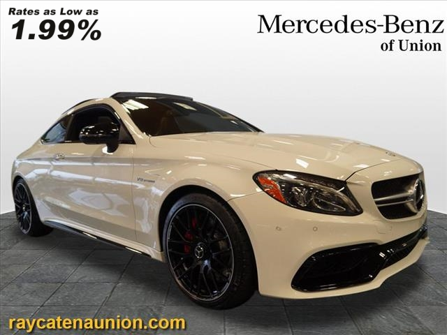 Certified Pre-Owned 2017 Mercedes-Benz C-Class AMG® C 63 S RWD