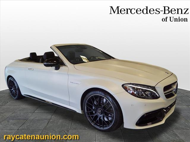 Certified Pre-Owned 2018 Mercedes-Benz C-Class AMG® C 63 Cabriolet RWD