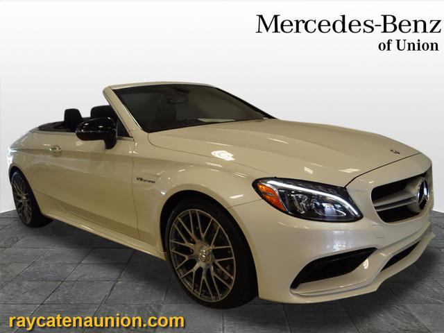 Certified Pre-Owned 2017 Mercedes-Benz C-Class AMG® C 63 Cabriolet RWD