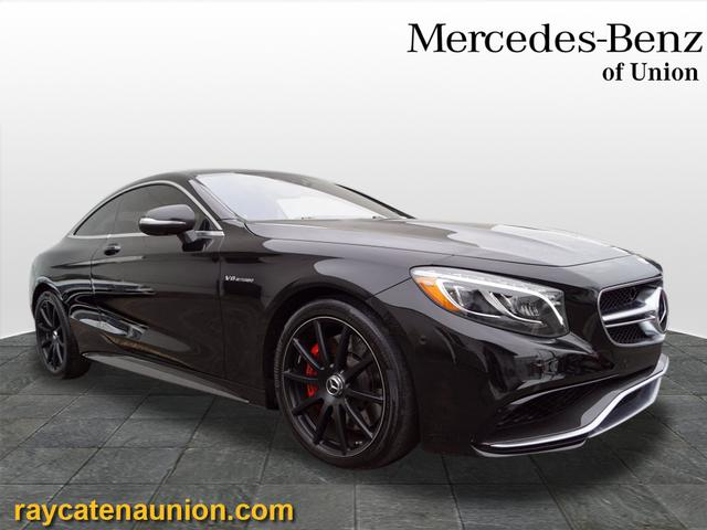 Certified Pre-Owned 2015 Mercedes-Benz S-Class AMG® S 63 Coupe AWD 4MATIC®