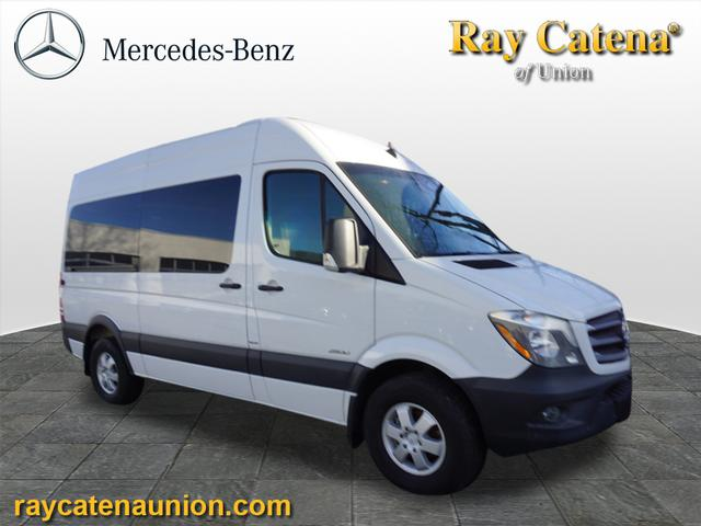 Certified pre owned 2016 mercedes benz sprinter 2500 144 for Ray catena mercedes benz