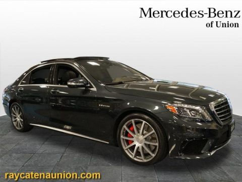 Certified Pre-Owned 2015 Mercedes-Benz S-Class AMG® S 63 Long Wheelbase 4MATIC®