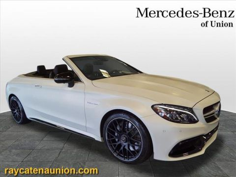 Certified Pre-Owned 2018 Mercedes-Benz C-Class AMG® C 63 Cabriolet