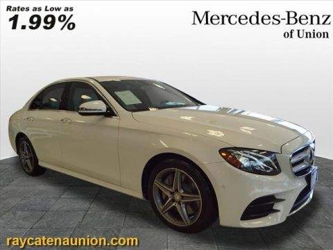 Certified Pre-Owned 2017 Mercedes-Benz E-Class E 300 4MATIC®